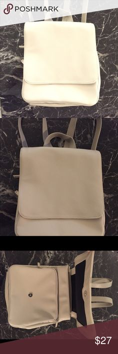 Urban Outfitters Backpack - Never Used Sleek taupe/light gray backpack with great space for ipad, books, or smaller lap top. Multiple pockets separated by zippers make this a great travel bag. Never worn or used, tag still attached. Urban Outfitters Bags Backpacks