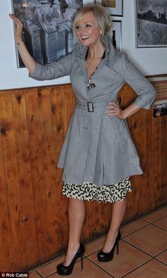 Stars Style: Emma Bunton Hot Outfits, Spring Outfits, Union Jack Dress, Tiffani Thiessen, Emma Bunton, Baby Spice, Geri Halliwell, Nice Clothes, Spice Girls