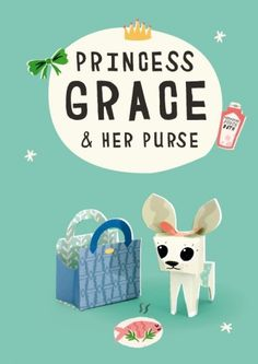 Download templates to make cute Princess Grace the dog for free!