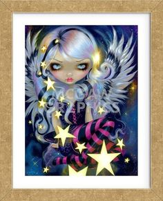 Fairy Art Prints Archives - Page 2 of 35 - Strangeling: The Art of Jasmine Becket-Griffith Amy Brown, Fantasy Kunst, Fantasy Art, Jasmine Becket Griffith, Art Mignon, Star Goddess, Kobold, Fairy Pictures, Gothic Fairy