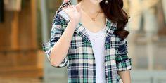 Amazing stylish check shirts for girls | SARI INFO