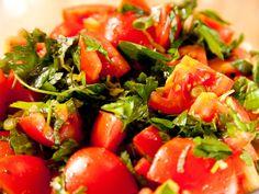 Marinated Tomato Salad with Herbs