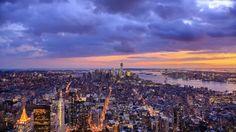 New York City Skyline | Free HD Stock Video Footage - Videezy.com
