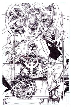 Doctor Strange #1 variant cover by Neal Adams *