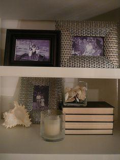 Bookcase After Makeover #Homegoods #HappyByDesign #NYCLQ Lynda Quintero-Davids #FocalPointStyling #PHX #AZ
