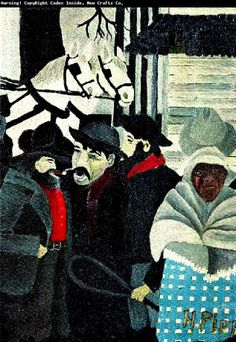 oilpainting by Horace Pippin