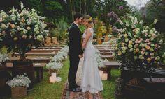 Casamento boho: Iana & André