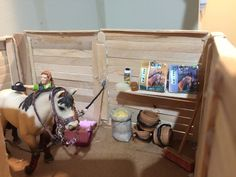 - Art Of Equitation Schleich Horses Stable, Horse Stables, Horse Barns, Horse Tack, Barbie Horse, Horse Bedding, Bryer Horses, Toy Barn, Horse Crafts