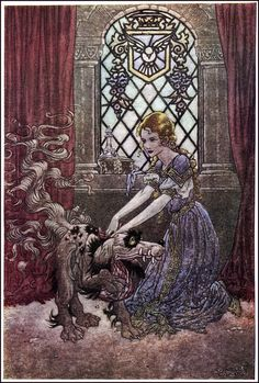 Charles James Folkard - The Princess and Curdie by George Macdonald
