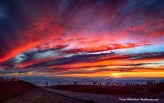 Maui sunrise this week... Haleakala Crater National Park  Source: Ocean Defender Hawaii