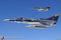 KFir C-10 y C-12. Comando Aéreo de Combate No. 1(CACOM-1) - Fuerza Aérea Colombiana (FAC)