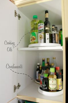 """How to ORGANIZE your KITCHEN"" - Organizing a Deep Pantry Cabinet"