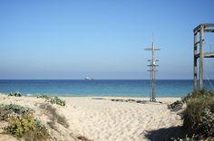 Disfruta del mediterraneo a escasos metros.  Mas información y reservas en http://www.arroceriaduna.es/es/