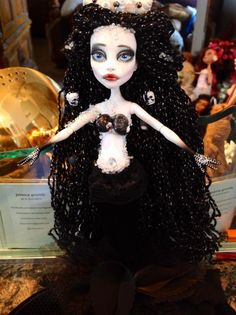 Monster High Repaint. Sea Witch by BeaNMeDolls on Etsy, $70.00