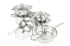 12 Piece Stainless Steel Cookware Set ** Click on the image for additional details.
