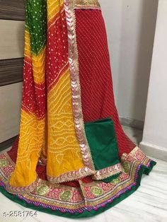 Lehengas Voguish Elegant Georegette Embroidered Lehengas Fabric: Lehenga -  Georegette   Choli - Georegette Dupatta -  Art Silk Size: Lehenga ( Waist Size ) - Up To 40 in Choli - 1 Mtr Dupatta - 2.3 Mtr  Flair - 3.5 Mtr Length: Lehenga - Up To 40 in Type: Lehenga - Semi - Stitched Choli - Un - Sttiched Description: It Has 1 Piece Of Lehanga 1 Piece Of Choli And 1 Piece Of Dupatta   Work : Lehenga - Embroidery Choli - Embroidery Dupatta - Lace Work Country of Origin: India Sizes Available: Un Stitched, Free Size, Semi Stitched *Proof of Safe Delivery! Click to know on Safety Standards of Delivery Partners- https://ltl.sh/y_nZrAV3  Catalog Rating: ★4 (4714)  Catalog Name: Tina Voguish Elegant Georegette Embroidered Lehengas Vol 1 CatalogID_348397 C74-SC1005 Code: 707-2581764-