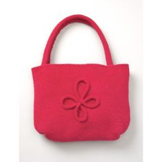 Felted Bag with Motif