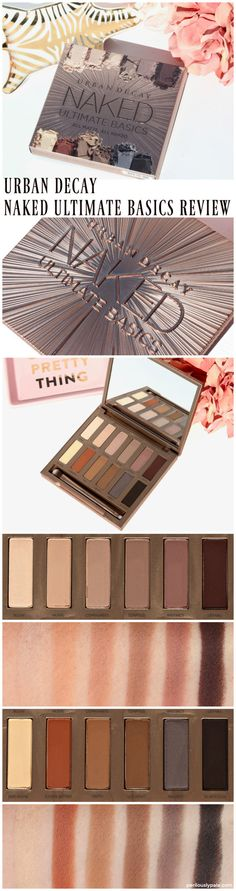 Urban Decay Naked Ultimate Basics Palette Review & Swatches