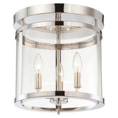 Cast a warm glow in your living room or den with this eye-catching pendant, showcasing a cylindrical silhouette and 3 lights.  Produ...