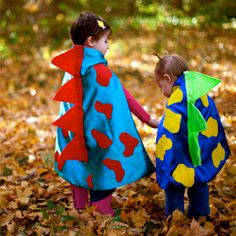 If you have a darling dino-lover on your hands, then this made-to-order, satin cape is the perfect getup — she'll have a ghoulishly good time while trick-or-treating.