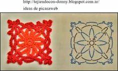 PATRONES - CROCHET - GANCHILLO - GRAFICOS: CIRCULOS A CROCHET