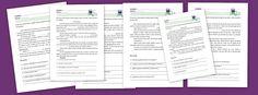 Fichas para trabajar la compresión lectora en niños. Fichas gratuitas para imprimir de comprensión lectora del portal Escuela en la Nube