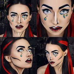 #comics #photosession #photoshoot #popart #makeup #mariannapetrushevskaya #cartoom #marvel