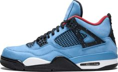 c2683c7097788 Jordan Air 4 Retro  Cactus Jack  - University Blue Varsity Red Jordan 4