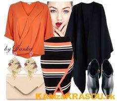 #kamzakrasou #sexi #love #jeans #clothes #dress #shoes #fashion #style #outfit #heels #bags #blouses #dress #dresses #dressup #trendy #tip #new #kiss #kisses  V žiarivej oranžovej - KAMzaKRÁSOU.sk