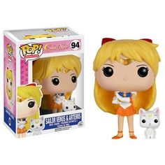 Funko Pop! Sailor Venus & Artemis Vinyl Figure