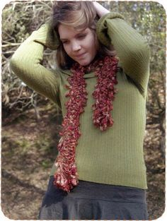 """An example of the patterns in """"Crochet Now!"""""""