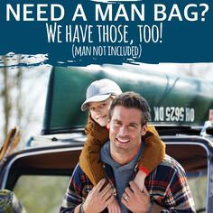 Need a man bag? We have those, too! Check out the new fall/winter Thirty-One catalog! #ilovemybaglady