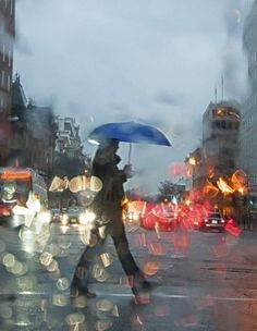 Rainy Day in Washington DC