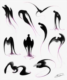 63 Ideas dark anime art demons deviantart for 2019 Fantasy Character Design, Character Design Inspiration, Character Art, Creature Concept Art, Creature Design, Dark Fantasy Art, Wings Drawing, Creature Drawings, Mythical Creatures Art