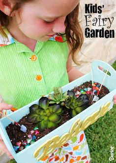 How-to: DIY Mini Garden for Kids