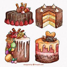 Food Art Painting, Bee Painting, Art Painting Gallery, Cute Food Drawings, Pencil Art Drawings, Cute Food Art, Cute Art, Candy Drawing, Chibi Kawaii