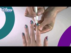 Liv & Maddie Nail Art Tutorial - YouTube