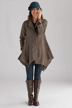 Harlequin Jacket: Cynthia Ashby: Linen Jacket - Artful Home