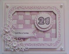 Inky Finger Zone: Sneak Peek Fancy Fold Cards, Folded Cards, Paper Weaving, Spellbinders Cards, Sue Wilson, Birthday Cards For Women, Card Companies, Die Cut Cards, Milestone Birthdays