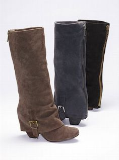 Naughty Monkey Jumpstart Fold-over Boots Crazy Shoes, Me Too Shoes, Hot Shoes, Fold Over Boots, Little Fashion, Cool Boots, Casual Boots, Bearpaw Boots, Women Lingerie