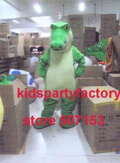 Nagelneu und hohe qualität Für Erwachsene Krokodil drachen monster maskottchen kostüm phantasie partykleid Halloween kostüm sommer heißer verkauf(China (Mainland))