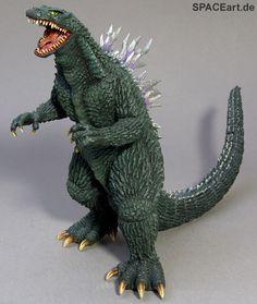 Godzilla: Godzilla 2000 (Godzilla vs. Megaguirus), Fertig-Modell ... http://spaceart.de/produkte/gz013.php