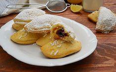 Raviole con crema pasticcera e amarene, variante della ricetta classica