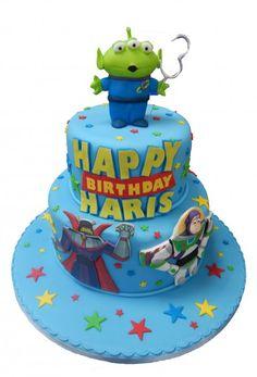 Bolo Toy Story +de 70 Ideias de Bolo Super Divertidos #BoloToyStory #Bolo #ToyStory #BoloDecorado #FestaToyStory Bolos Toy Story, Festa Toy Story, Happy Birthday, Toys, Cake, Desserts, Toy Story Birthday, Cake Ideas, Diy Home