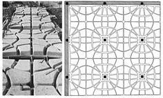 Pier Luigi #Nervi - Lanificio Gatti, Roma, 1951 Casseforme e progetto per il solaio a nervature isostatiche