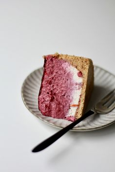 just dance in the damn downpour // cassis ombré mousse cake Round Cake Pans, Round Cakes, Delicious Cake Recipes, Sweet Recipes, Vegan Ice Cream, Mousse Cake, Crust Recipe, Cake Ingredients, Yum Yum Chicken