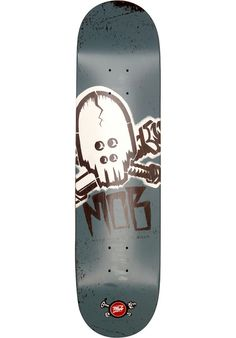MOB-Skateboards Skull-Stencil - titus-shop.com  #Deck #Skateboard #titus #titusskateshop