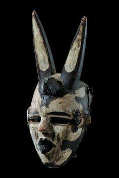 """Mask """"elu"""" Nigeria, Ogoni"""