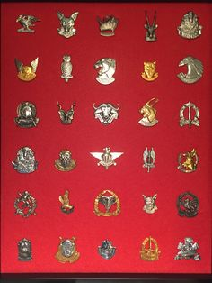 South African units - Border War Years Army Ranks, Military Ranks, Military Units, Military Insignia, Military History, Military Decorations, Army Day, Defence Force, Viking Tattoos