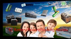 Battery Reconditioning - Car Battery Reconditioning | Battery Reconditioning Save Money And NEVER Buy A New Battery Again
